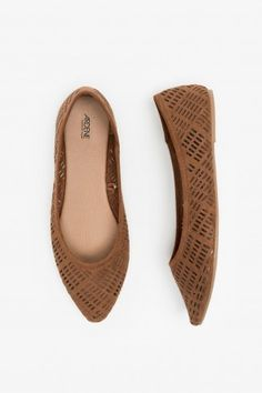 ff6eac63652e Laser cut flats - Ballerinas - Shoes