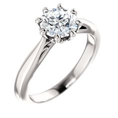 """This exquisite diamond engagement solitaire ring is available in 10KT,14KT and 18KT White, Yellow and Rose gold. It is currently set with 7mm diamond color """"I"""" clarity """"SI"""" which can be customized to fit your budget. Stone shape can also be customized to Oval stone. Shipped globally. Engagement Rings Sale, Round Solitaire Engagement Ring, Diamond Wedding Bands, Wedding Rings, Rose Gold, Clarity, Yellow, White Gold, Stone"""