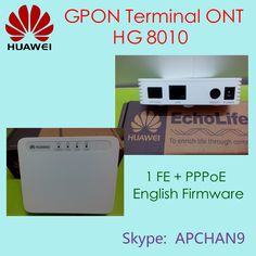 #HUAWEI GPON Terminal ONT,English Firmware# in Promotion. Payment can be by Aliexpress, Paypal, T/T. ^_^ ^_^ ^_^ HG8010  US$35 HG8240  US$53 HG8245  US$57 HG8240H  US$58  @Skype: APCHAN9 #Email: apchan9@gmail.com