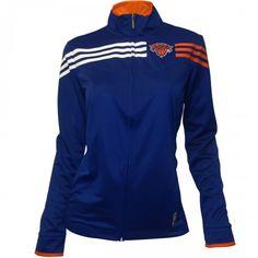 adidas Knicks Womens On-Court Track Jacket