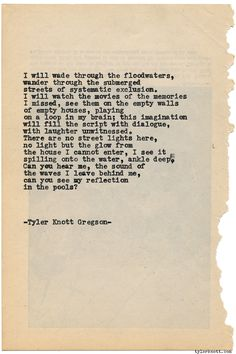 Typewriter Series #1373 by Tyler Knott GregsonCome say hello @TylerKnott on Instagram, Facebook, and Twitter!