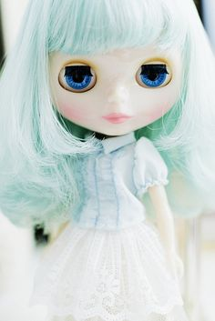 blythe Miss Sally Rice  by euniceeva, via Flickr