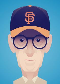 Woody Allen by Stanley Chow