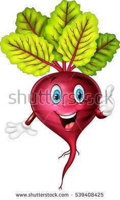Cartoon beet giving thumb up Art Drawings For Kids, Drawing For Kids, Cartoon Drawings, Art For Kids, Stone Crafts, Rock Crafts, Vegetable Cartoon, Kids Canvas Art, Fruit Cartoon