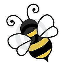 Bumble bee free cute bee clip art an illustration of a cute bee . general shape of the bee, which makes for a good reference for the bee in my logo Bumble Bee Tattoo, Bumble Bee Clipart, Bumble Bees, Bee Silhouette, Bee Stencil, Stencils, Bee Rocks, Bee Pictures, Bee Free