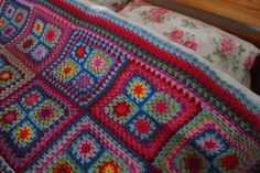 a brighter picture of the blanket I am inspired by <3