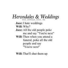 Herondales and wedding