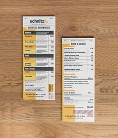 Schnitz (NY, NY) by Tag Collective, via Behance
