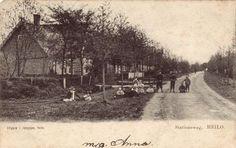 Stationsweg in oostelijke richting, ca. 1905