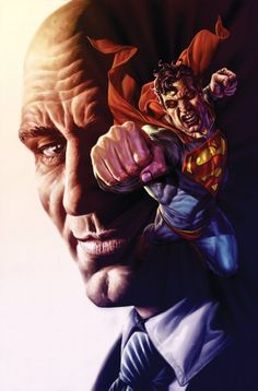 Superman and Lex Luthor by Lee Bermejo