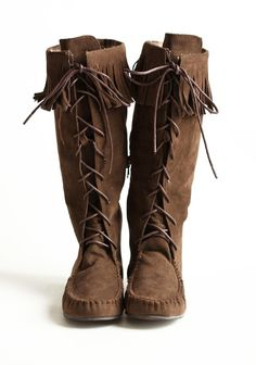 Northern Sky Moccasin Boots
