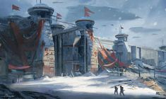 ArtStation - Arctic Outpost, Mickie Camua