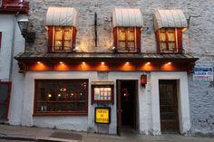 """""""Café de la Paix"""" one of the best restaurant in Quebec City"""