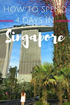 There is so much to do in this small island/city. Here is your guide to Singapore in 4 days - from food to accommodation to activities, it's all here!