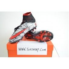 9c18ddbcaa2f Nike Hypervenom Phantom II Neymar FG - Black Bright Crimson White cheap football  shoes
