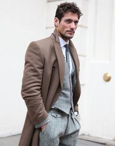 overcoat/suit