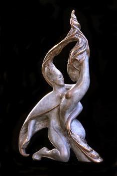Sève - Sculpture d'Isabelle Jeandot