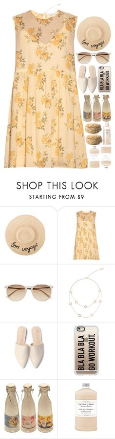 """""""5496"""" by tiffanyelinor on Polyvore featuring The Great, Witchery, Arme De L'Amour, Casetify, Retrò, Williams-Sonoma and Sachajuan"""