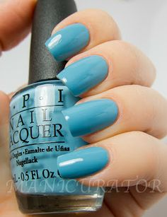 manicurator: OPI Euro Centrale Spring 2013 Collection - The Blues, can't find my Czeckbook
