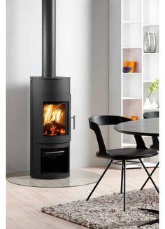 Westfire Uniq 15 Standard Wood Burning Stove - 5.3kW Black - Westfire Stoves available at Wood Burner World