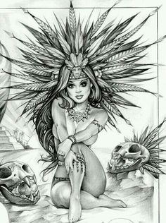 Boceto azteca