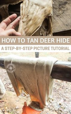 How to Tan Deer Hide – a Step-by-Step Picture Tutorial - This is a great step by step guide on tanning hides. It also has pictures and great tips. This is something you should be doing with your deer. Stop paying people to break down your animals and find out how to make the most of the animal yourself. #hunting #deerhunting #tanning #hidetanning #tidetanningtips #homestead #homesteading