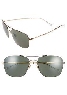adb198a32cf Gucci 58mm Navigator Sunglasses Italian Sunglasses