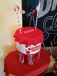 Image result for Coca Cola Themed party