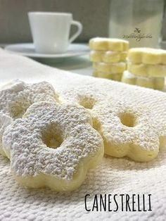 Canestrelli - ricetta facile Italian Pastries, Italian Desserts, Biscuits, Cookie Recipes, Dessert Recipes, Café Chocolate, Biscotti Cookies, Italian Cookies, Bakery Cakes