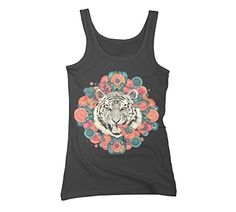 bengal mandala Women's Small Charcoal Graphic Tank Top - Design By Humans Design By Humans http://www.amazon.com/dp/B00LTGDYFM/ref=cm_sw_r_pi_dp_0Zg8vb09AS3KA