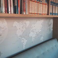 Mapas ilustrados a medida e impresos en madera para señalar con chinchetas! Interiors, Illustrated Maps, The Originals, Studio, Creativity, Wood, Decoration Home, Decor, Deco
