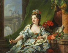Johann Heinrich Tischbein the Elder - The Nine Muses -Melpomene (Tragedy) | par…