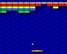 Arkanoid (1986)  Déplacement : flèches droite et gauche  Tir : Barre d'espace 90s Childhood, Childhood Memories, Vintage Video Games, My Memory, Gaming Computer, My Happy Place, Pinball, Back In The Day, Arcade Games