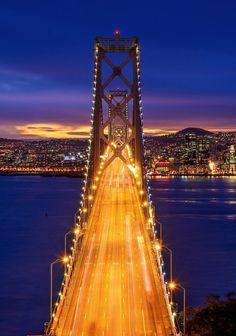Bay Bridge-San Francisco.