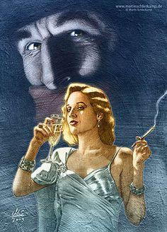 The Shadow - ala the Alec Baldwin film version.