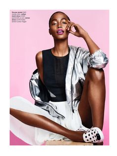let's play: genesis vallejo mota by arved colvin-smith for uk glamour june 2014