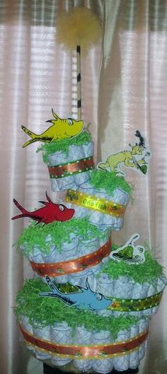 Dr. Seuss Baby Shower Party Ideas | Photo 1 of 51 | Catch My Party