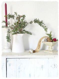 Afbeeldingsresultaat voor scandinavian shabby christmas decor