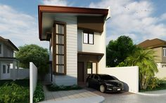 Pinoy House Design 2015010 is part of the series of low budget residences catered for small lot sizes.