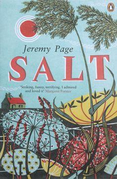 Angie Lewin, salt cover design, penguin, plants, nature, print, design, colour, printmaking, book cover