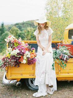 oh!myWedding: 20 fotografías de inspiración para una boda bohemia
