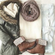 Adorable Fall Winter Outfit