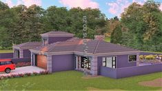 4 Bedroom House Plan - My Building Plans South Africa Round House Plans, My House Plans, My Building, Building Plans, House Plans South Africa, 5 Bedroom House Plans, House Construction Plan, Open Plan, Mlb