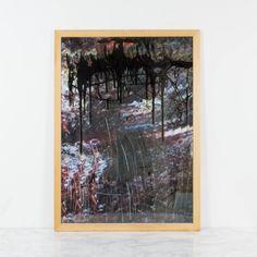 Pintura abstracta, El paso de las sombras, 2009   Antic&Chic