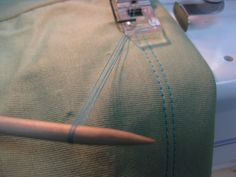 Some tips for hemming RTW (or your own creations!) Almost everyone has to hem something they've purchased. Whether is too long and has to be shortened or its too short and a piece has to be a… Sewing Hems, Serger Sewing, Sewing Elastic, Sewing Clothes, Sewing Tutorials, Sewing Patterns, Sewing Projects, Diy Projects, Pillos
