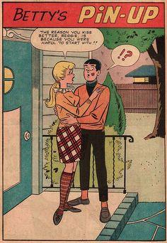 Betty and Reggie Archie Comics Riverdale, Vintage Humor, Vintage Comics, Comic Book Artists, Comic Book Characters, Archie Betty And Veronica, Archie Comic Books, Romantic Comics, Josie And The Pussycats