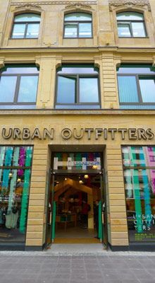 Urban Outfitters store, Frankfurt