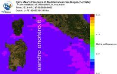 #meteo #forecast #fishing #pesca #mediterranean #mediterraneo #sea #mare 21/07/2013 #Sardegna #Sardinia #Italy #Italia