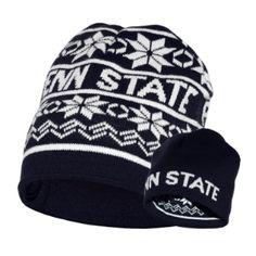 Penn State Reversible Snow Knit Hat