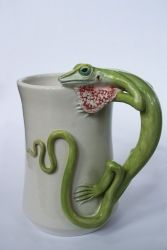 Green Anole Lizard Mug / Source: DistinctlyFlorida.com